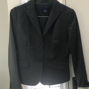 J. Crew pinstripe suit